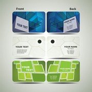 Dynamic Technology Business Card Template 01