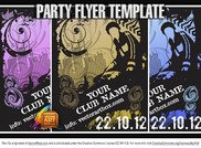 Great Free Vector Flyer Template For Party