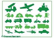 Military Vehicles Graphics