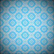 Free blue vector pattern