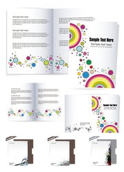 Beautiful stationery folding and