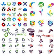 A wide range of logo graphics template