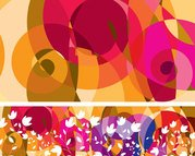 Gratis Fashion patroon Vector achtergrond Abstract Floral