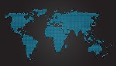 World Map Dot