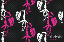Free Fuchsias in Illustrator and Photoshop Patterns