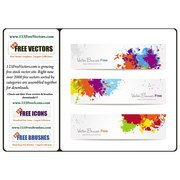 COLORFUL SPLASH VECTOR BANNERS.eps