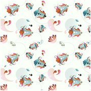 Free Floral Pattern for Photoshop and Illustrator