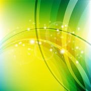 Abstract Curves & Spiral Lines Background