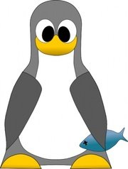 Tux With Fish