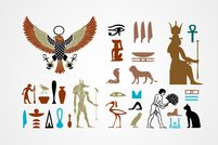 Egyptian Signs, Symbols & Element Vectors (Free)