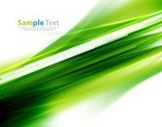 Abstract Green Motion Background