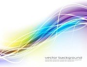 Colourful Wave Background
