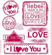 Romantic Love Stamp 01