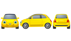 Free Yellow Car