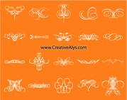 Creative Calligraphic Floral Pack