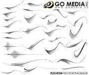 Go Media Vector Chupin material (set8) - Motion Lines