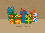 Christmas Gift Boxes with Patterns
