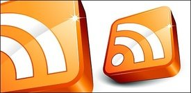 Rss icon Subscribe exquisite three-dimensional
