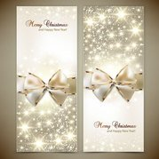 Christmas card background vector-4