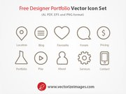 Outlined Web Designing Icons Pack