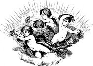 Cherubs In Cloud