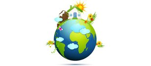 Green Earth Ecology Concept