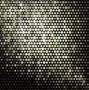 Mosaic Circle Dot Disco Background