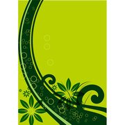 GROENE FLORAL VECTOR BACKGROUND.ai