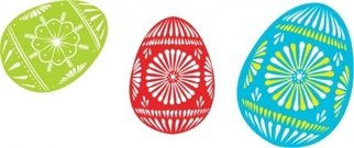 Colour Easter Eggs