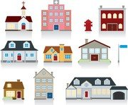 Vector Of Small House