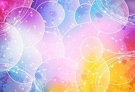 Colorful Abstract Vector Background Graphic