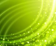 Green Wrinkled Background with Bokeh Bubbles