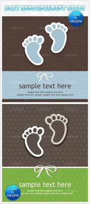 Painted feet poster sample