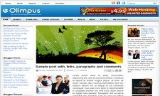 Olimpus Blogger Free Theme