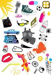 Gratis Design Element Vector Pack 2