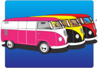 Volkswagen Type 2 Free Vector Art