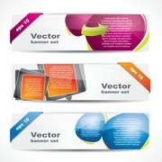 Fashion Glossy Banner