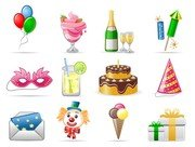 birthday theme icon