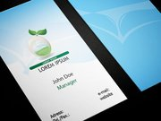 Ecologic Healthy Food Business Card