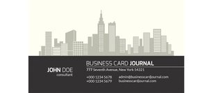 City View immobilier Business Card Set