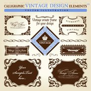 European Retro Lace Pattern Vector Material Background Label European