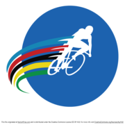 Cyclist Vector Logo