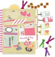 Beautiful Pink Stickers Elements 03