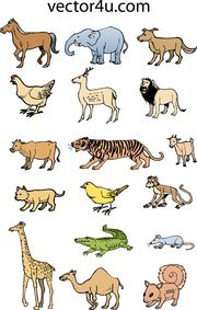 Animal Vector Set 1 Pack