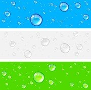 Crystal Clear Water Drops 01