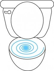 Swirly Toilet