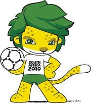 South Africa 2010 World Cup Mascot Zakumi