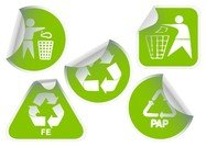green sticker icon