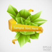 Cool Threedimensional Graphics Vector 2
