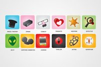 Movie Genres Vector Icons (Free)